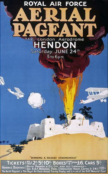 Hendon Aerial Pageant poster