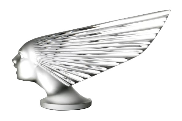 A Rare Victoire 'Spirit of the Wind' by Rene Lalique
