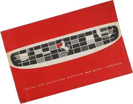 A Very Rare Ferrari 250 Granturismo Berlinetta and Spyder California Sales Brochure