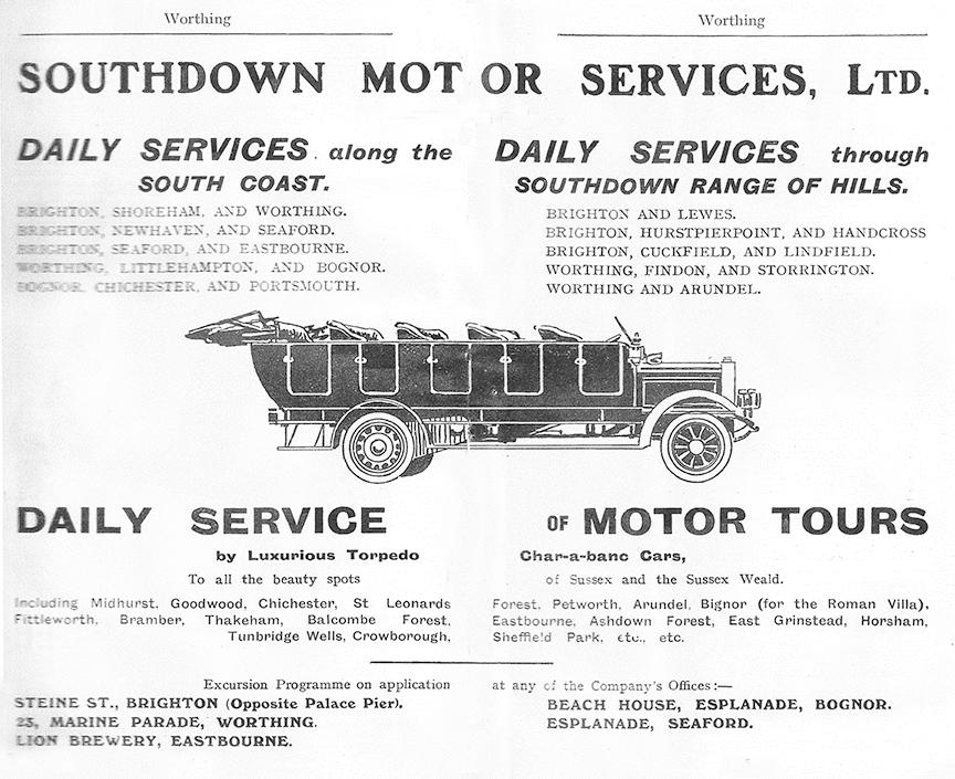 Southdown advert c.1915