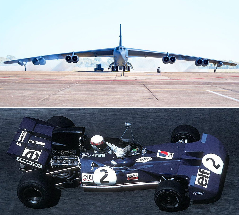 B-52 Stratofortress / Tyrell Ford