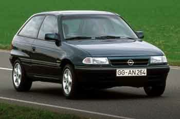 Vauxhall Astra third generation