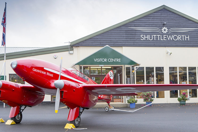 The Shuttleworth Collection visitor centre
