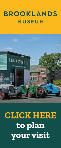 Click here to plan your visit to Brooklands Museum